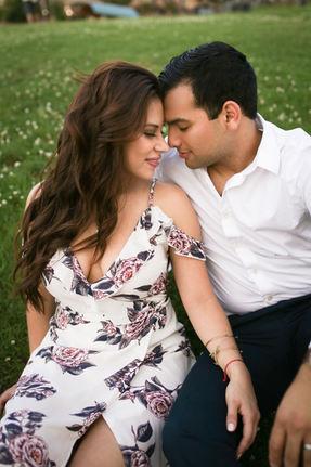 Latinx Couple Little Rock Photographer Engagement session