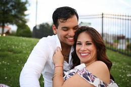 Latinx Couple Little Rock Photographer Caroline M Holt Best Engagement Photo 3