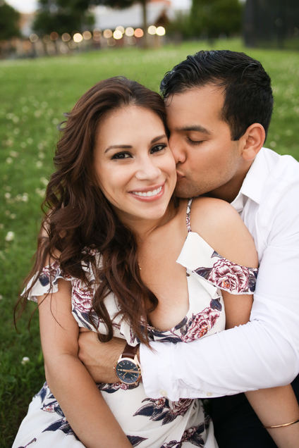 Latinx Couple Little Rock Photographer Caroline M Holt Best Engagement Photo