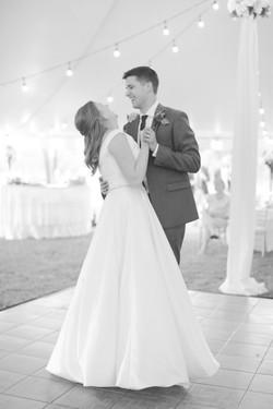 dancing hubert couple wedding day photography
