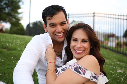 Latinx Couple Little Rock Photographer Caroline M Holt Best Engagement Photo 4