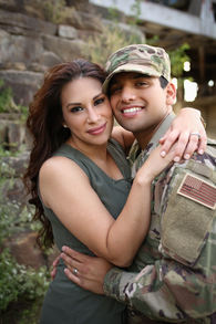 Best Engagement Photographer in Central Arkansas Natalia Latin couple