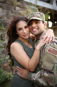 Best Engagement Photographer in Central Arkansas Natalia Latin couple