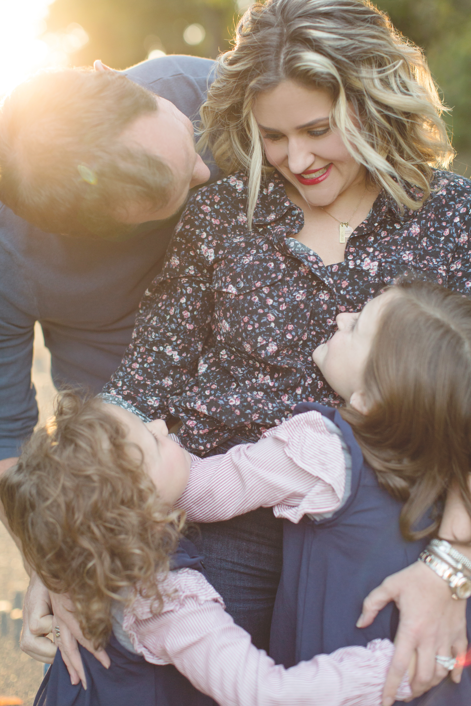 Family Portrait Photographer Caroline M Holt Photo two little girls