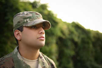 Best Engagement Photographer in Central Arkansas Latin Army man