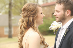 Hubert Wedding fell in love with the frenchmen wedding photo ginger bride redhead bride