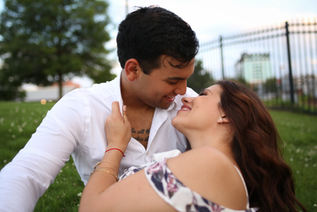 Latinx Couple Little Rock Photographer Caroline M Holt Best Engagement Photo1