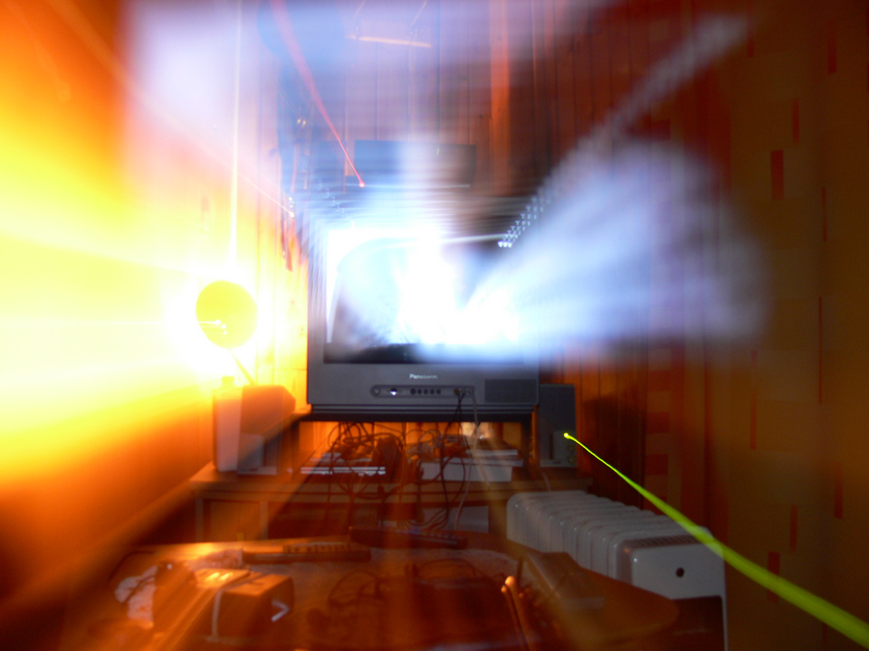 Explosion de lumière
