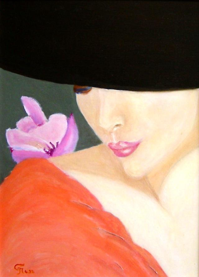 Orchidée songeuse