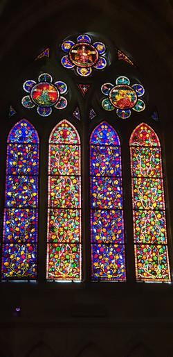 Vitraux de la cathédrale de Léon