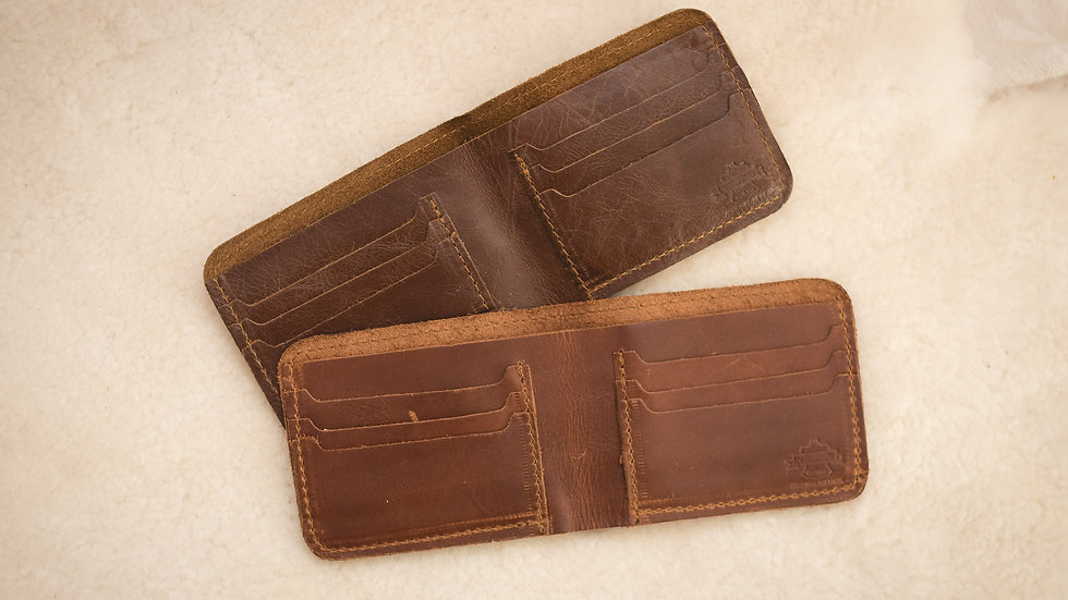 Mens Wallet 6 card holder no tab