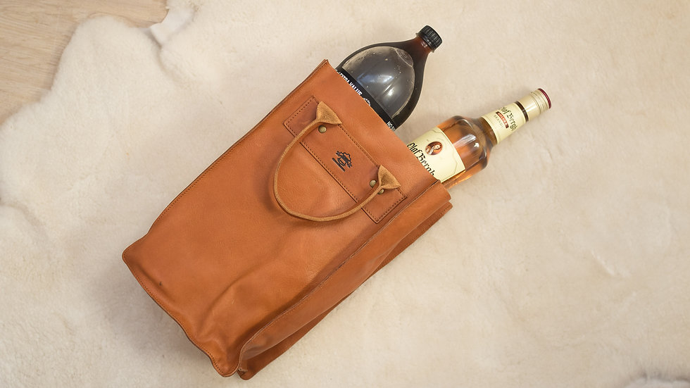 Brandy and Coke Leather Bag