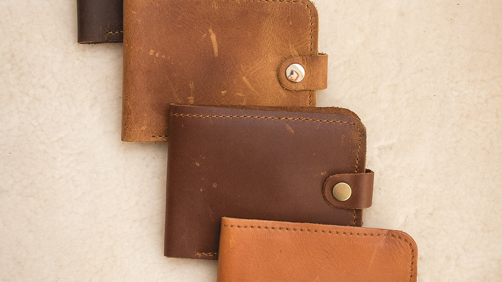 Mens Wallet 6 card with tab