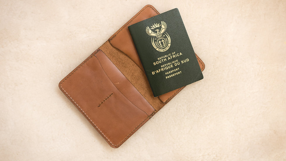 Passport Holder with credit card