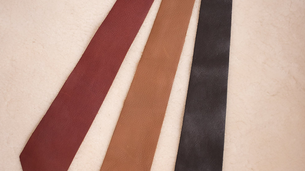 Leather Tie Long