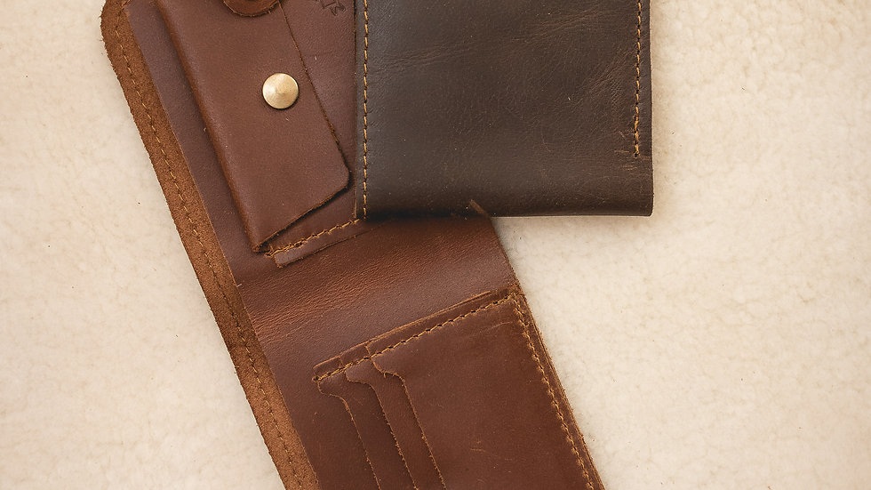 Mens Wallet  with change/tab