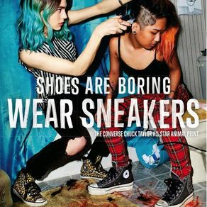 Converse | Shoes Are Boring, Wear Sneakers Campaign | 2013