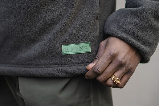 Fashion photography London: RAINS Jacket3