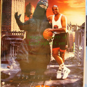 Godzilla vs Charles Barkley | Nike Air Max CB34 | 1992 | TV Commercial & Comic