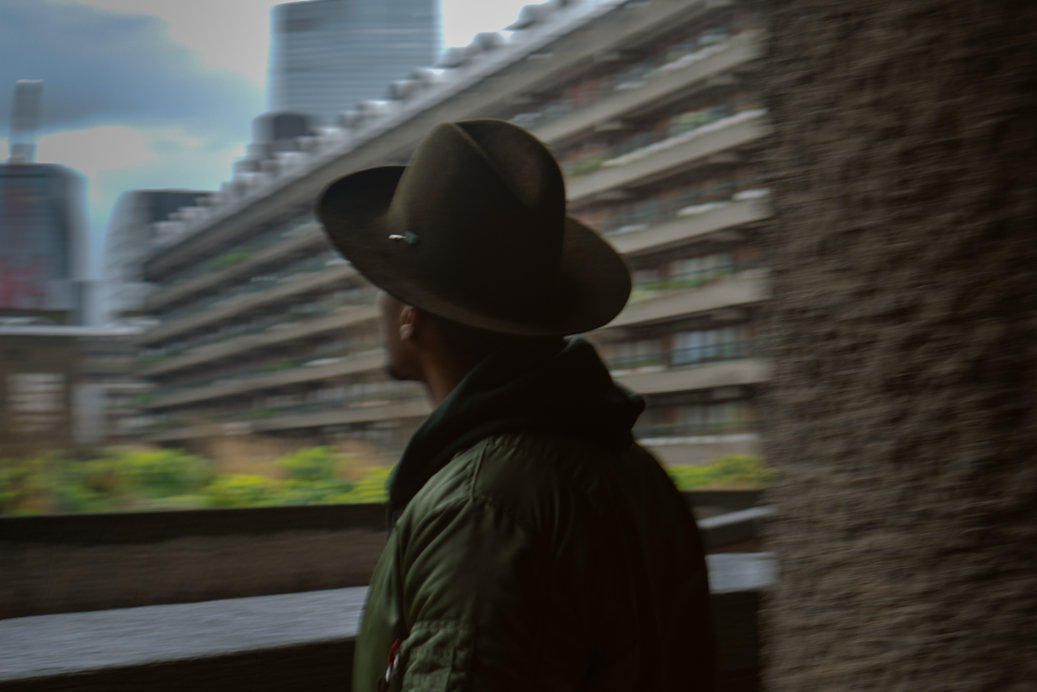 Street Style photography in Lonon Barbican