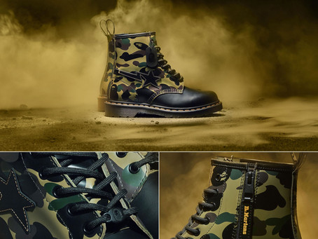 Dr. Martens 1460 Remastered | A Bathing Ape, Raf Simmons & Beams and Babylon | 2020 | Part 1 of 4