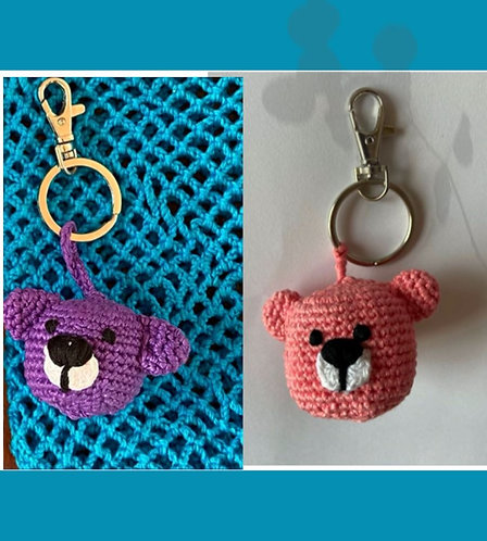 Handcrafted Crochet Key Ring