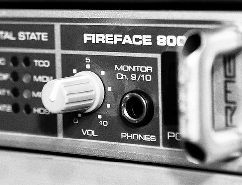 Focusrite ISA II en Fireface 800
