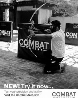 Combat Archery at Sport Center