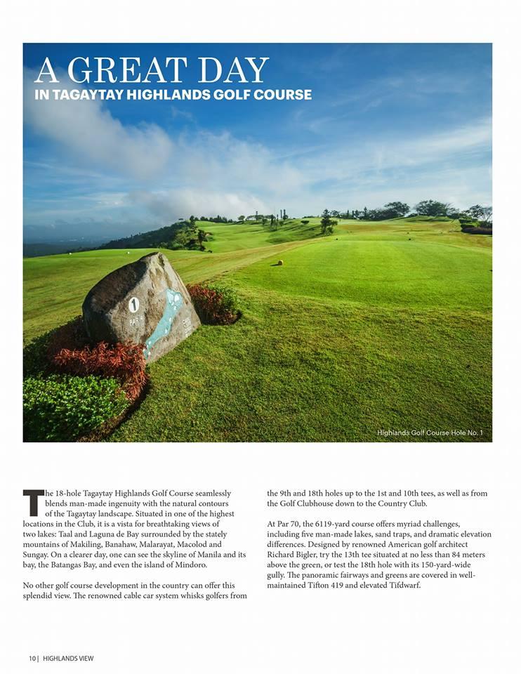 Tagaytay Highlands Golf Course