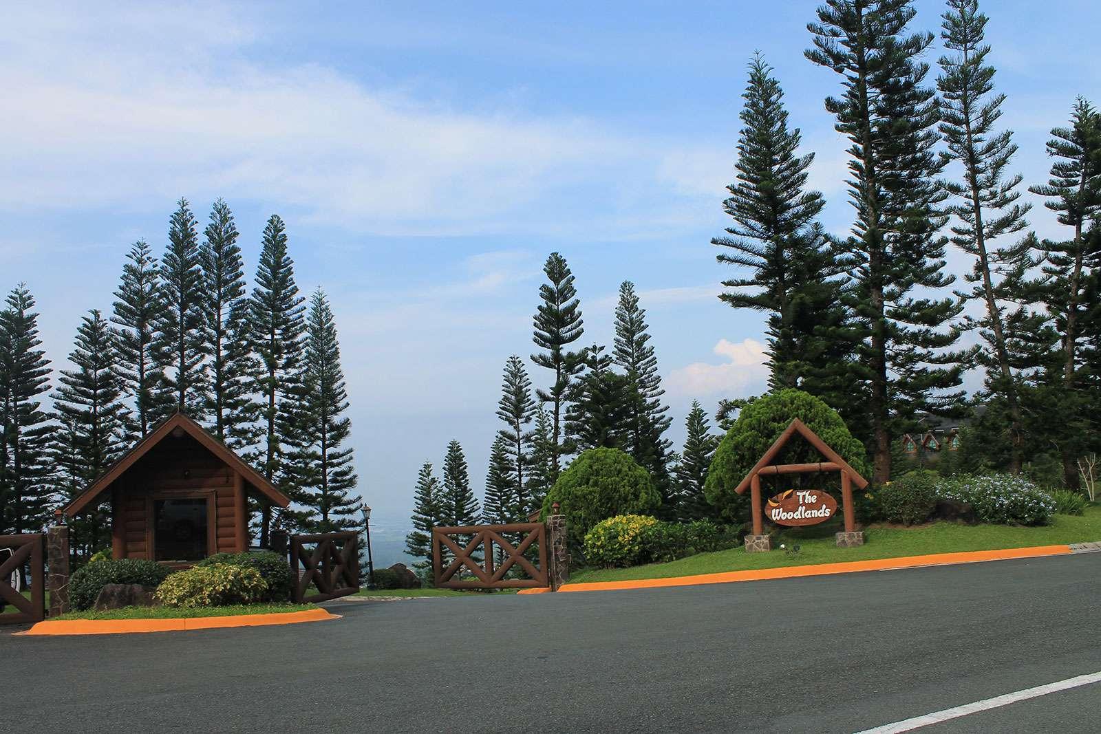 Woodlands Entrance Gate