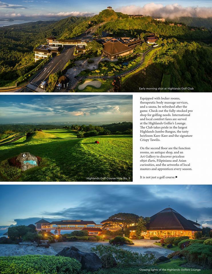Tagaytay Highlands Golf Club