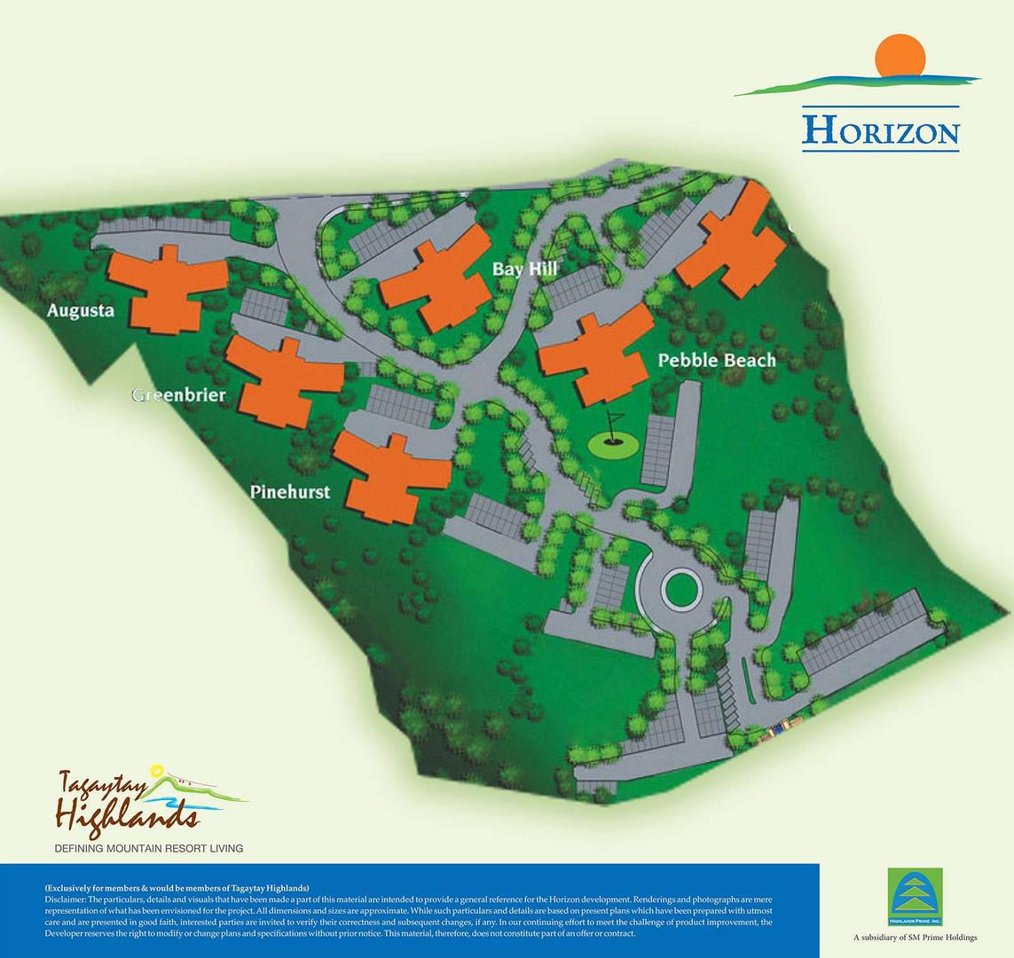 Horizon's Site Development Plan