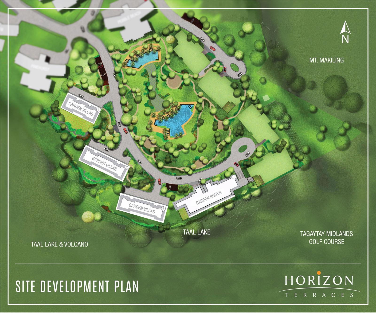 Horizon Terraces, Master Plan Detail