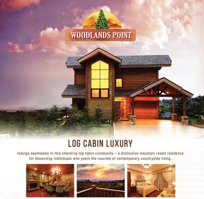 Luxury Log Cabin Woodlands Point