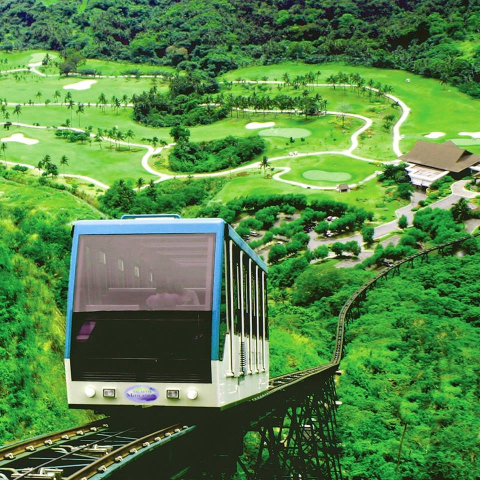 Swiss Funicular Train