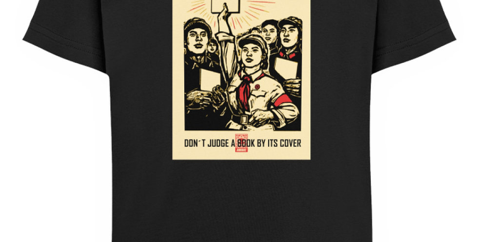 DONT JUDGE A BOOK BY IT´S COVER  - Kinder Organic T-Shirt