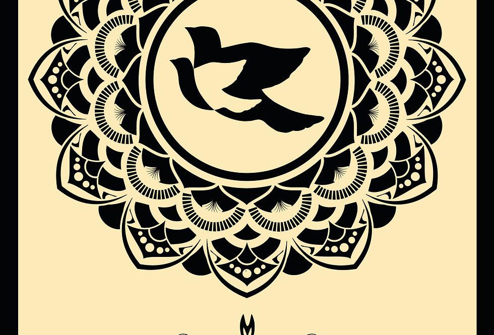 PEACE DOVES MANDALA