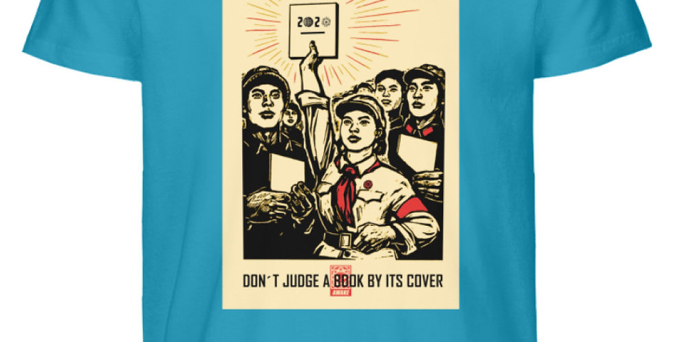 DONT JUDGE A BOOK BY IT´S COVER  - Herren Premium Organic Shirt