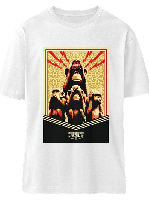 LITA  -Men Org. Melange Shirt