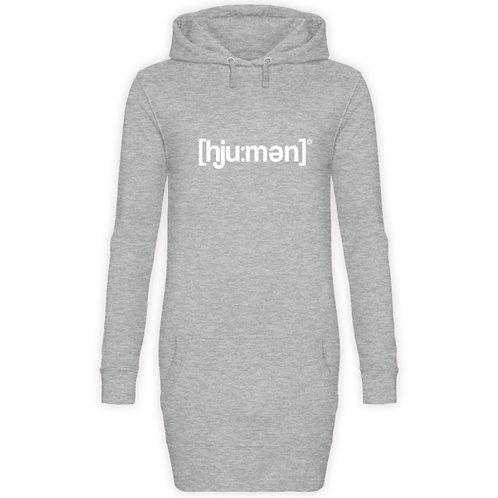 HUMAN  - Damen Hoodie-Kleid