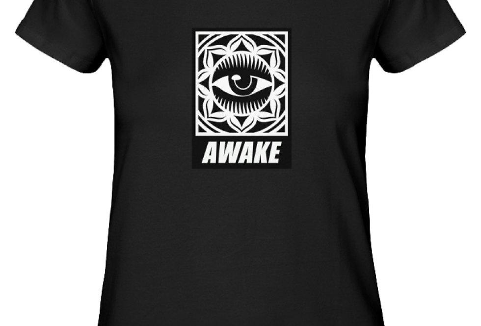AWAKE   - Damen Premium Organic Shirt