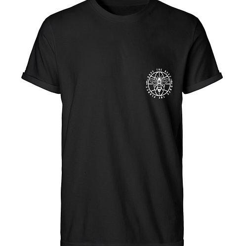 SAVE THE BEEZ  - Herren RollUp Shirt