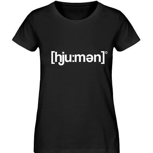 HUMAN  - Damen Organic Shirt
