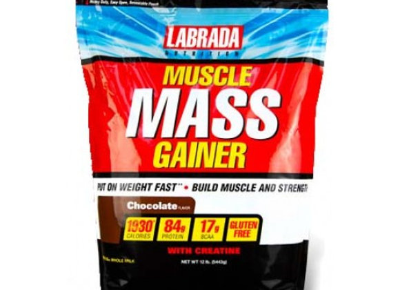 MUSCLE MASS GAINER 12 LBS