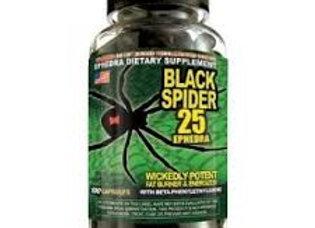 BLACK SPIDER-25 100 CAPS