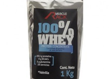 100% WHEY MUSCLE RACK 1 KG
