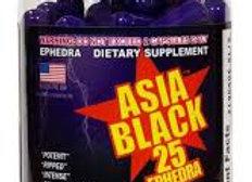 ASIA BLACK-25 100 CAPS
