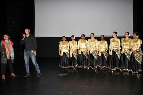 Représentation festival des cinémas indiens