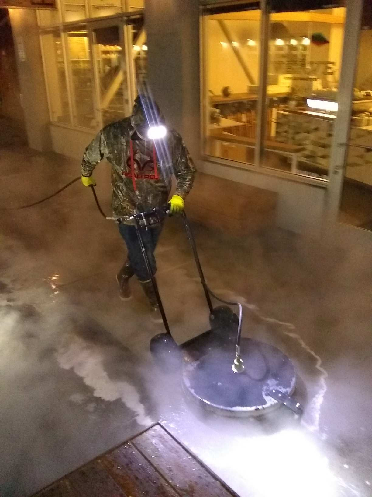 C and J Pressure Washing
