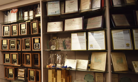 Awards from differnt print completions
